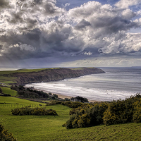 Buy canvas prints of Baggy Point by Dave Wilkinson  North Devon Photography