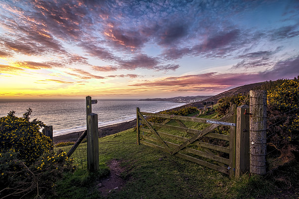 Woolacombe Bay Canvas print by Dave Wilkinson  North Devon Photography