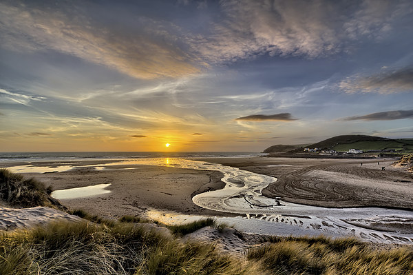 Croyde Bay Canvas Print by Dave Wilkinson  North Devon Photography
