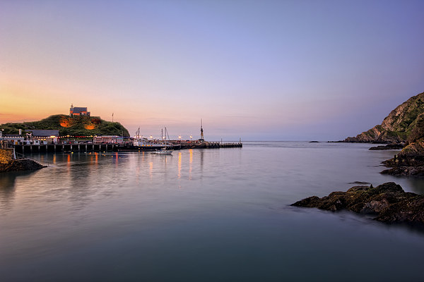 Ilfracombe Harbour Canvas print by Dave Wilkinson  North Devon Photography
