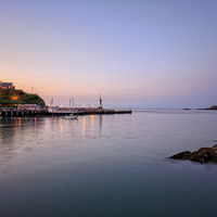 Buy canvas prints of Ilfracombe Harbour by Dave Wilkinson  North Devon Photography