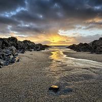 Buy canvas prints of Barricane Beach, Woolacombe, North Devon. by Dave Wilkinson  North Devon Photography