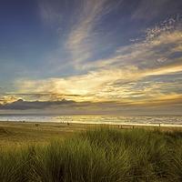 Buy canvas prints of   Saunton Sands North Devon by Dave Wilkinson North Devon Ph