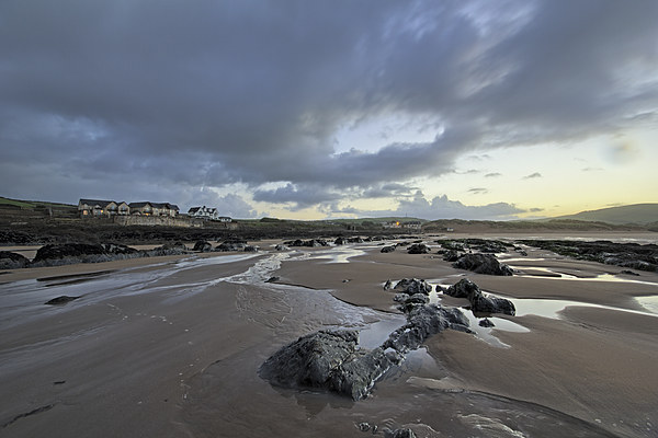 Early morning at Croyde Bay Canvas Print by Dave Wilkinson North Devon Ph