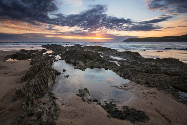 Croyde Bay North Devon. Canvas print by Dave Wilkinson North Devon Ph