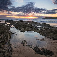 Buy canvas prints of Croyde Bay North Devon. by Dave Wilkinson North Devon Ph