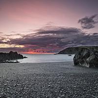 Buy canvas prints of Sandy Cove, North Devon by Dave Wilkinson North Devon Ph