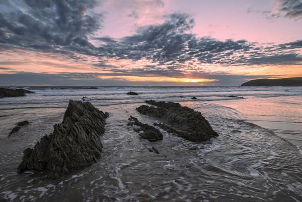 Croyde Bay North Devon. Canvas print by Dave Wilkinson North Devon Ph