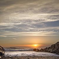 Buy canvas prints of  Croyde Bay North Devon by Dave Wilkinson North Devon Ph