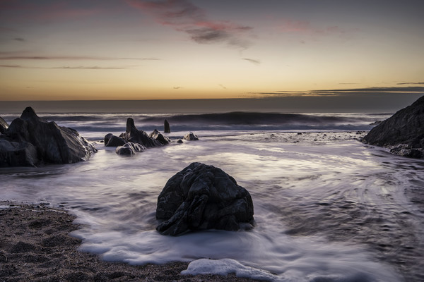 Croyde Bay North Devon Canvas Print by Dave Wilkinson North Devon Ph