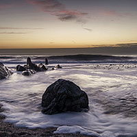 Buy canvas prints of Croyde Bay North Devon by Dave Wilkinson North Devon Ph