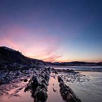 Buy canvas prints of Saunton Sands sunrise by Dave Wilkinson North Devon Ph