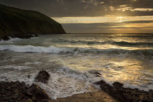 Putsborough Sands Canvas print by Dave Wilkinson North Devon Ph