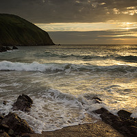 Buy canvas prints of Putsborough Sands by Dave Wilkinson North Devon Ph
