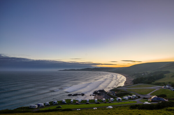 Woolacombe Bay  Canvas Print by Dave Wilkinson North Devon Ph