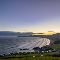 Buy canvas prints of Woolacombe Bay  by Dave Wilkinson North Devon Ph