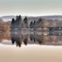 Buy canvas prints of Loch Ken Viaduct by Derek Beattie