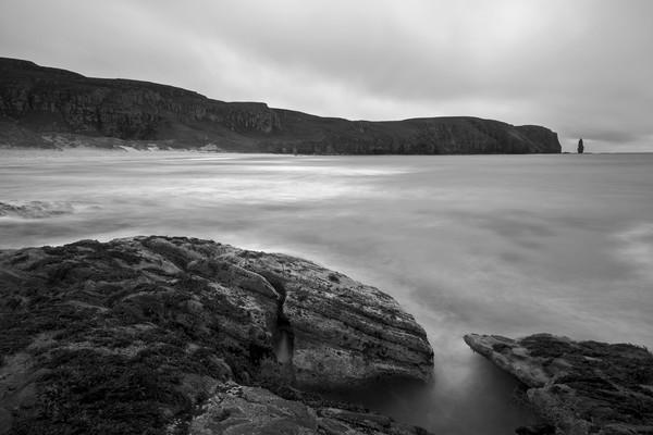 Sandwood Bay Acrylic by Derek Beattie