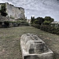 Buy canvas prints of The Grave by William Attard McCarthy