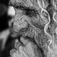 Buy canvas prints of Old Man's Prayer by William Attard McCarthy