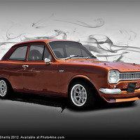 Buy canvas prints of Ford escort by Carl Shellis