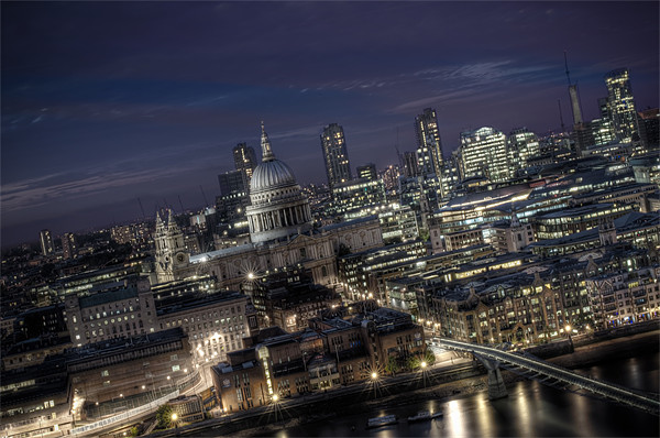 St Pauls Cathedral Canvas print by Gary Mather