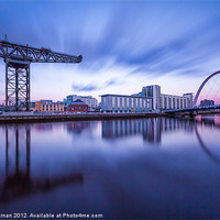 Buy canvas prints of Scotland Finnieston Crane Glasgow by Fine Art by John Farnan