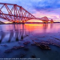 Buy canvas prints of Forth Rail Bridge by Fine Art by John Farnan
