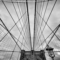 Buy canvas prints of Brooklyn Bridge by Fine Art by John Farnan