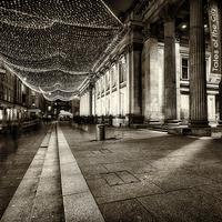 Buy canvas prints of GOMA royal exchange square glasgow by Fine Art by John Farnan