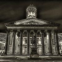 Buy canvas prints of GOMA royal exchange square glasgow by Fine Art by John Farnan