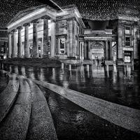 Buy canvas prints of Royal Exchange Square Glasgow by Fine Art by John Farnan