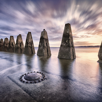 Buy canvas prints of Sunrise at Cramond by Fine Art by John Farnan