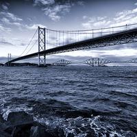 Buy canvas prints of Forth Bridges Scotland by Fine Art by John Farnan