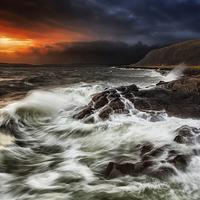 Buy canvas prints of The wild west coast by Fine Art by John Farnan