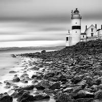 Buy canvas prints of Cloch Lighthouse by Fine Art by John Farnan