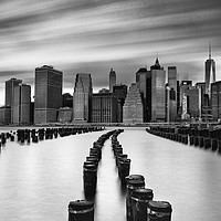 Buy canvas prints of Lower Manhattan by John Farnan