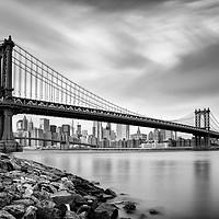 Buy canvas prints of Manhattan Bridge by John Farnan