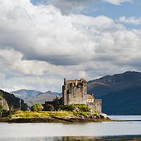 Buy canvas prints of Eilean Donan Castle by John Farnan