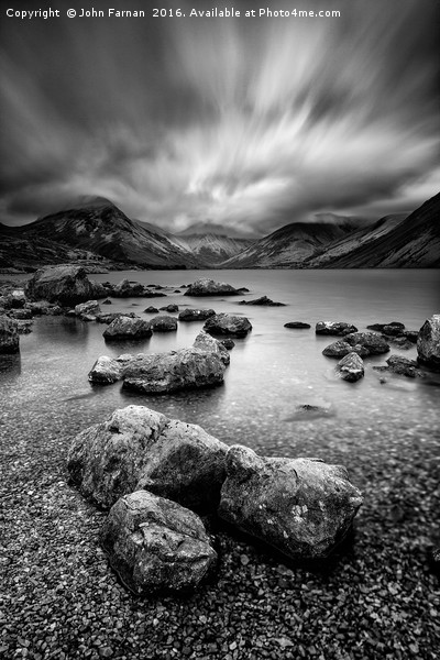 Wastwater Canvas print by John Farnan