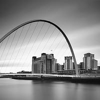 Buy canvas prints of Gateshead riverside and Baltic by John Farnan