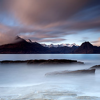 Buy canvas prints of Black Cuillin from Elgol by John Farnan