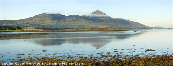 Croagh Patrick, Ireland's Holy Mountain Canvas print by Jane McIlroy
