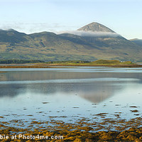 Buy canvas prints of Croagh Patrick, Ireland's Holy Mountain by Jane McIlroy