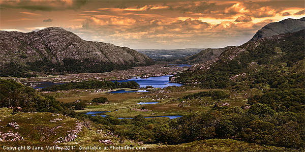 Ladies' View, Lakes of Killarney Canvas print by Jane McIlroy
