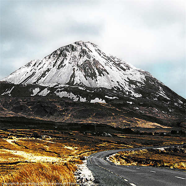 Errigal, Donegal, Ireland Canvas Print by Jane McIlroy