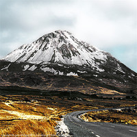 Buy canvas prints of Errigal, Donegal, Ireland by Jane McIlroy
