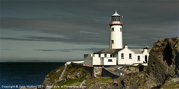 Fanad Head Lighthouse, Donegal, Ireland Canvas Print by Jane McIlroy