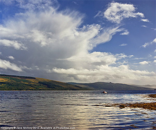 Inverary, Loch Fyne, Scotland Canvas print by Jane McIlroy