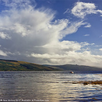 Buy canvas prints of Inverary, Loch Fyne, Scotland by Jane McIlroy